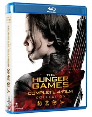 The Hunger Games - Complete 4-Film Collection Blu-ray