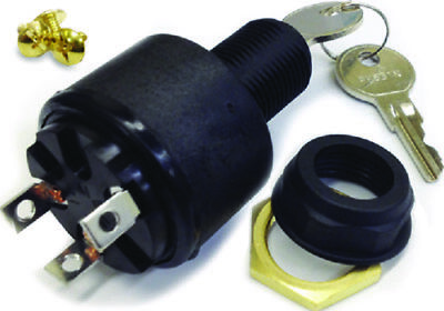 Marine 3 Position Replacement Ignition Switch For Inboard and I//O Engines