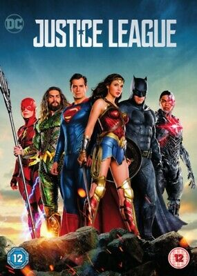 NEW Justice League DVD