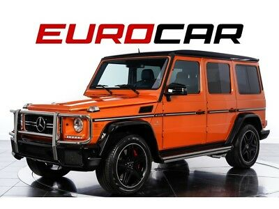 """2015 G-Class G63 AMG (AMG® Performance Studio Package) AMG® Performance Studio Package ($20,000), Stunning """"Sunset Beam"""" Exterior"""