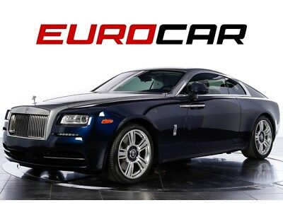 2016 Wraith (two-tone exterior, Starlight Headliner) $381,395.00 MSRP, The Wraith Package ($39,995), Two-Tone Exterior ($9,400)