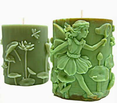 Fairy Catching a Butterfly Silicone Candle Mould