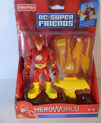 Fisher Price 2012 HERO World  DC Super Friends The Flash W9522