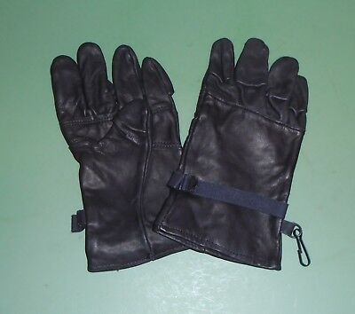 10°F ICW Intermediate Cold Weather GLOVES Goretex Leather Med NIB US Military