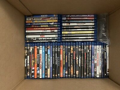 Blu-ray Movies Collection (Action, Adventure, Comedy, Fantasy, Horor, Romance)