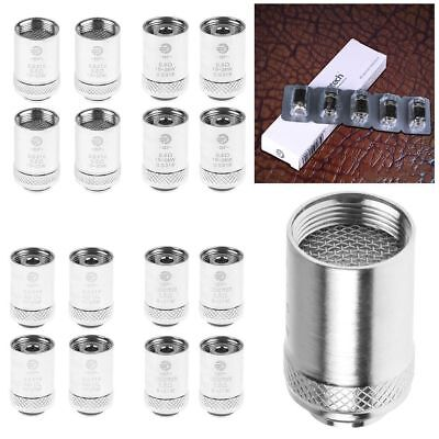 5x For Joyetech Ego AIO Coils SS316 0.5/0.6/1.0/Clapton 1.5ohm Coil Charger  CLG