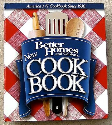 BETTER HOMES & GARDENS NEW 5-Ring COOK BOOK 12th Ed-2003 1st Print. ~BHG1