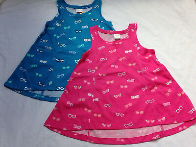New Girls size 5 GYMBOREE Lot Cotton Summer Sleevess Tops NWT $74+ Retail Value