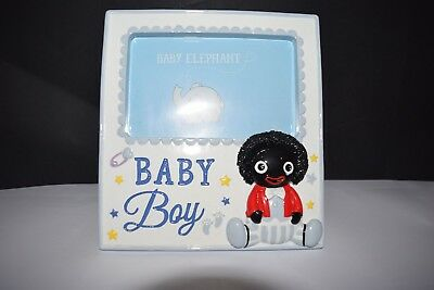 Boy Baby photo frame ceramic Childrens Baby Nursery Decor keepsake