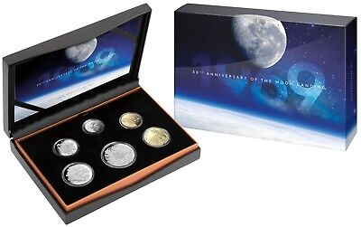 2019 Proof Year Set - 50th Anniversary of the Moon Landing - RAM