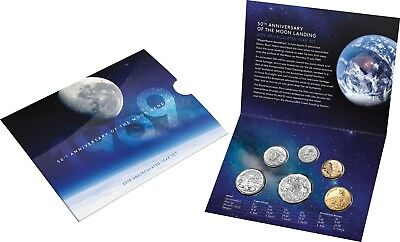 2019 Australia UNC Year Set - 50th Anniversary of the Moon Landing - RAM