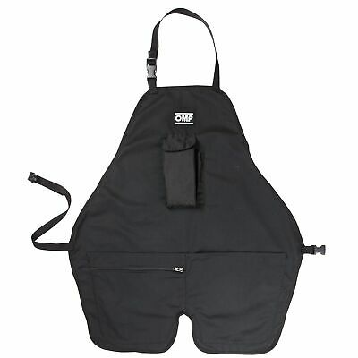 OMP Motorsport Professional Car Garage Mechanic Work Tool Apron With Pockets