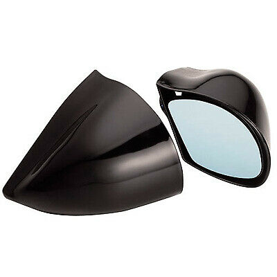 Ultra Racing / Track Day DTM Style Universal Saloon Car Wing Mirrors Pair Black