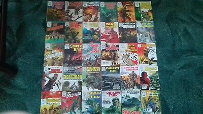 30 X Battle Picture Library,war Comics,bulk Lot Collection,2