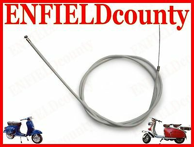 New Lambretta Scooter Complete Friction Free Clutch Cable @cad