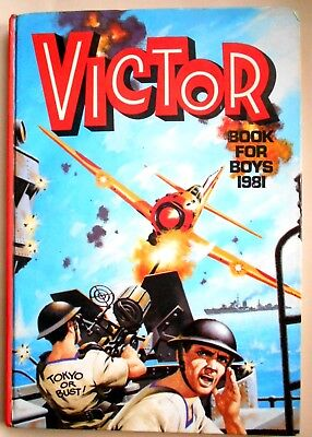The Victor Book For Boys 1989 - DC Thomson (1980) Stock fund
