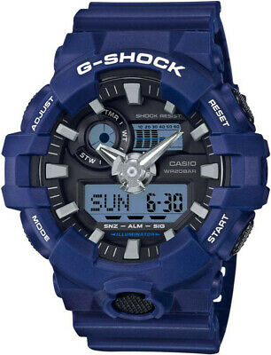 Casio Men's 'G SHOCK' Quartz Resin Casual Watch GA700-2A