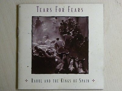 Tears For Fears Raoul And The Kings Of Spain Cd Sony Promotional Made In Brazil