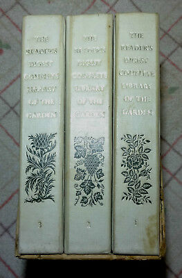 The Reader's Digest Complete Library Of The Garden.first Edition. 3 Volumes.1963