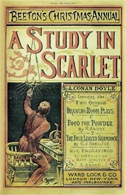Beeton's Christmas Annual 1887: A Study in Scarlet: Facsimile Edition (Paperback