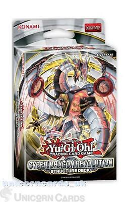 Yu-Gi-Oh! Structure Deck: Cyber Dragon Revolution - New and Sealed Box