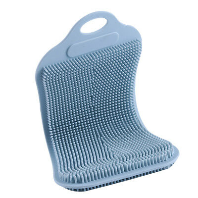Multi-purpose Kitchen Antibacterial Silicone Dish Scrubber Brush Dishwashing LD
