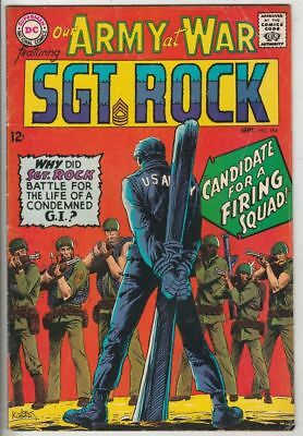 Our Army at War # 184 Strict FN/VF+ Artist Joe Kubert Death Wee Willie
