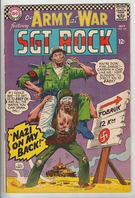 Our Army at War 169 Strict FN/VF Full-length Sgt. Rock & Easy Co. Kubert story
