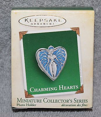 Hallmark Keepsake Charming Hearts Miniature Ornament 2005