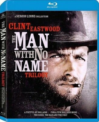 The Man With No Name Trilogy - 1964 - 1966 (Blu Ray, 3-Disc, 2014)
