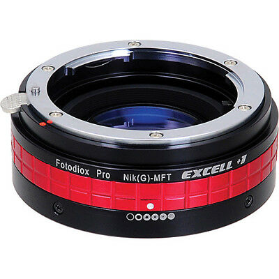 Fotodiox Focal Reducer Excell+1 Nikon F G-Type Lens to MFT Camera