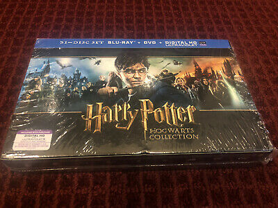 Harry Potter Wizards Collection (Blu-ray/DVD, 2014, 31-Disc Set, Includes Digita