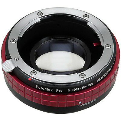 Fotodiox Focal Reducer Excell+1 Nikon F G-Type Lens to Fujifilm X-Mount Camera