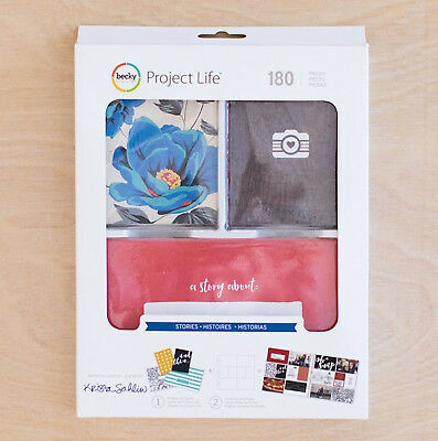 Project Life STORIES VALUE KIT (180pc) 380859 BOLD SIMPLE CLEAN ARTWORK