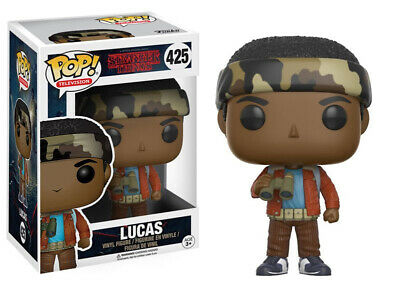 Stranger Things Lucas with Binoculars Vinyl POP! Figure Toy #425 FUNKO NEW MIB