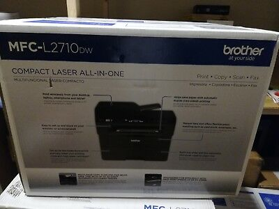 Brand New Brother MFC-L2710DW All-In-One Wireless Laser Printer Sealed