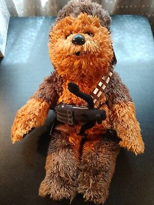 Star Wars Chewbacca Build a Bear Wookie w/ Sound Plush Stuffed Animal BABW 21""