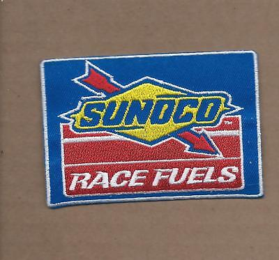 New 2 1/2 X 3 1/2 Inch Sunoco Race Fuels Iron On Patch Free Shipping