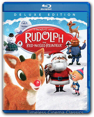 Rudolph The Red-Nosed Reindeer Blu-ray New Deluxe Edition