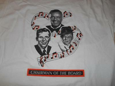 Old Vtg FRANK SINATRA Concert T-Shirt CHAIRMAN OF THE BOARD Made USA Singer
