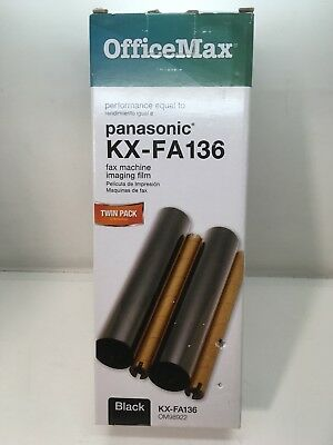 Panasonic Substitute New OfficeMax Fax Machine Imaging Film  KX-FA136