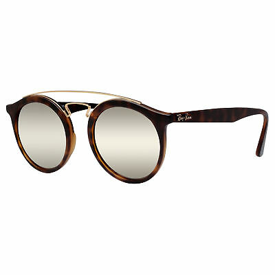 cc9a517f6d Ray Ban RB4257 60925A 50mm Gatsby II Tortoise Brown Gold Mirror Sunglasses