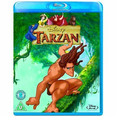 TARZAN (1999) Disney Blu-Ray BRAND NEW Free Ship