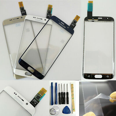 OEM Outer Glass Touch Screen Digitizer For Samsung Galaxy S6 Edge G925 + OCA &3M