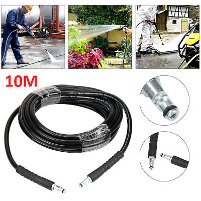 10M Pressure Washer Hose Click Trigger Click for Karcher K2 K3 K4 K5 K7 Series