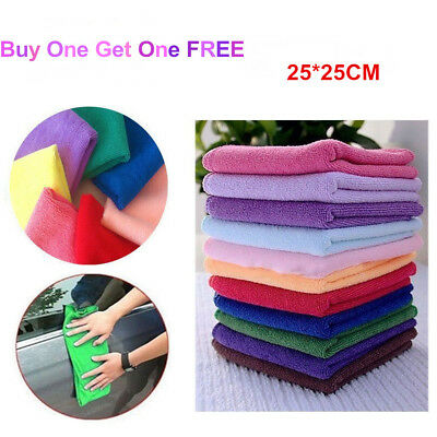 Microfiber Towels Microfiber Cleaning Cloth For Cars Kitchen Hands Rags Bulk New