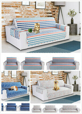 1/2/3 Seater Home Soft  Sofa Cover Mat Slipcover Couch Protector Water Resistant