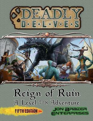 Jon Brazer DnD 5e Deadly Delves - Reign of Ruin SC MINT