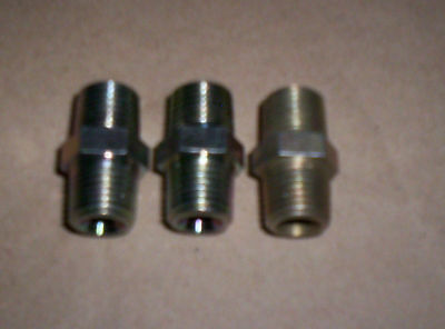 1/4 BSP Male To Male Airline Fitting Joiner Coupling x 4