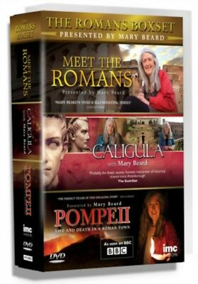 The Romans Triple DVD Box Set Presented by Mary Beard - Caligula,...